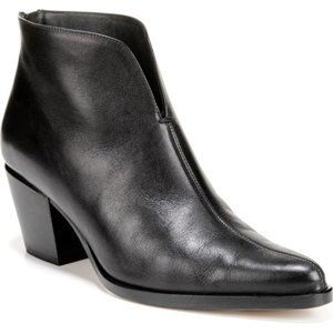 $395 VINCE Havana Notch Black Bootie 9.5 NEW